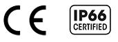 Certification CE IP66