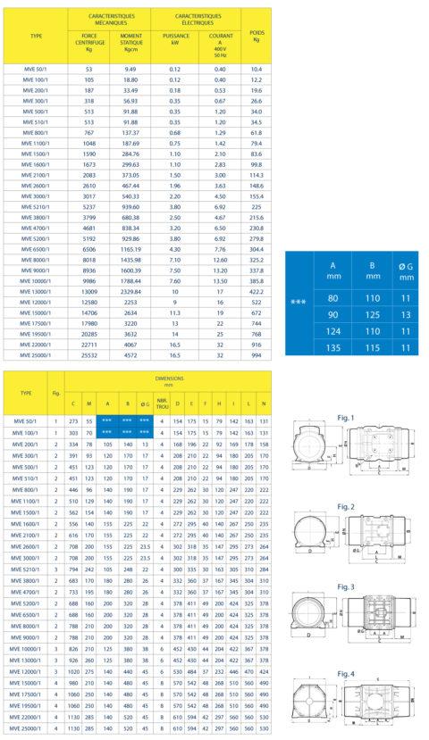 Vibrateurs Electriques Oli MVE 1000