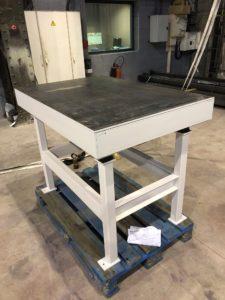 Table Vibrante Préfabrication Béton
