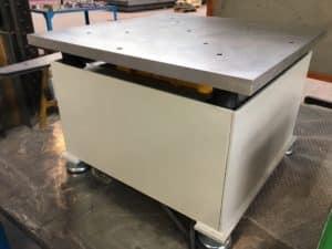 Table vibrante compact testes laboratoire